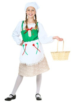Child Deluxe German Girl Costume