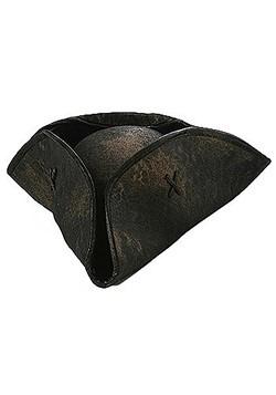 Black Caribbean Pirate Hat