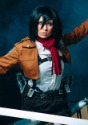 Deluxe Attack on Titan Mikasa Costume 3