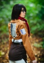 Deluxe Attack on Titan Mikasa Costume 4