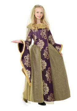 Child Renaissance Queen Costume