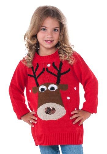 Child Reindeer Christmas Sweater
