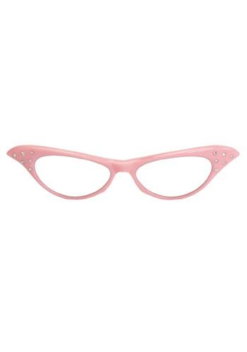 50s Pink Frame Glasses