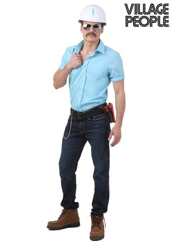 Plus Village People Construction Worker Costume