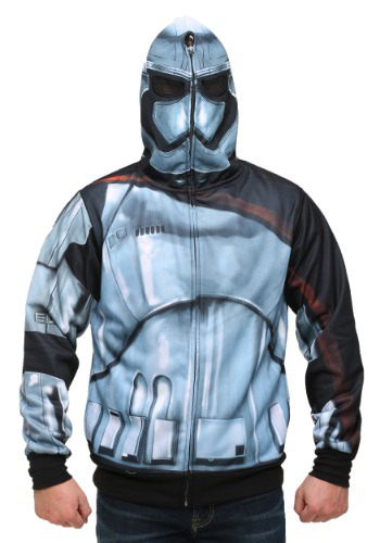 Men's Star Wars Episode 7 Phasma Costume Hooded Sweatshirt
