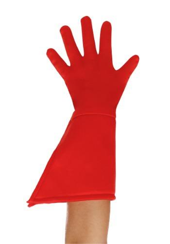 Child Red Superhero Gloves