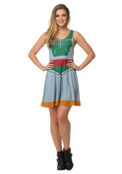 Star Wars Boba Fett A-Line Costume Dress