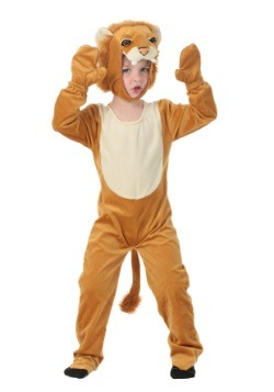 Child's Plush Lion Costume