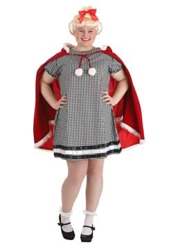 Plus Size Christmas Girl Costume
