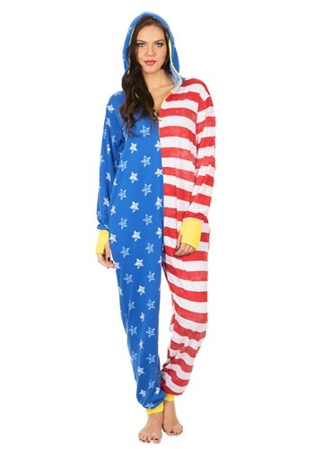 Women's American Flag WW Lounger