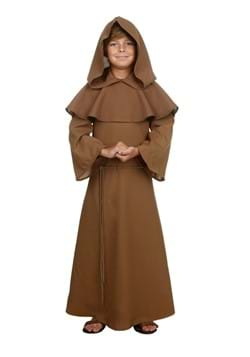 Child Brown Monk Robe