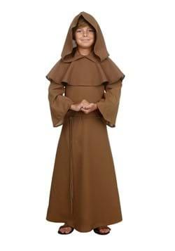 Child Brown Monk Robe