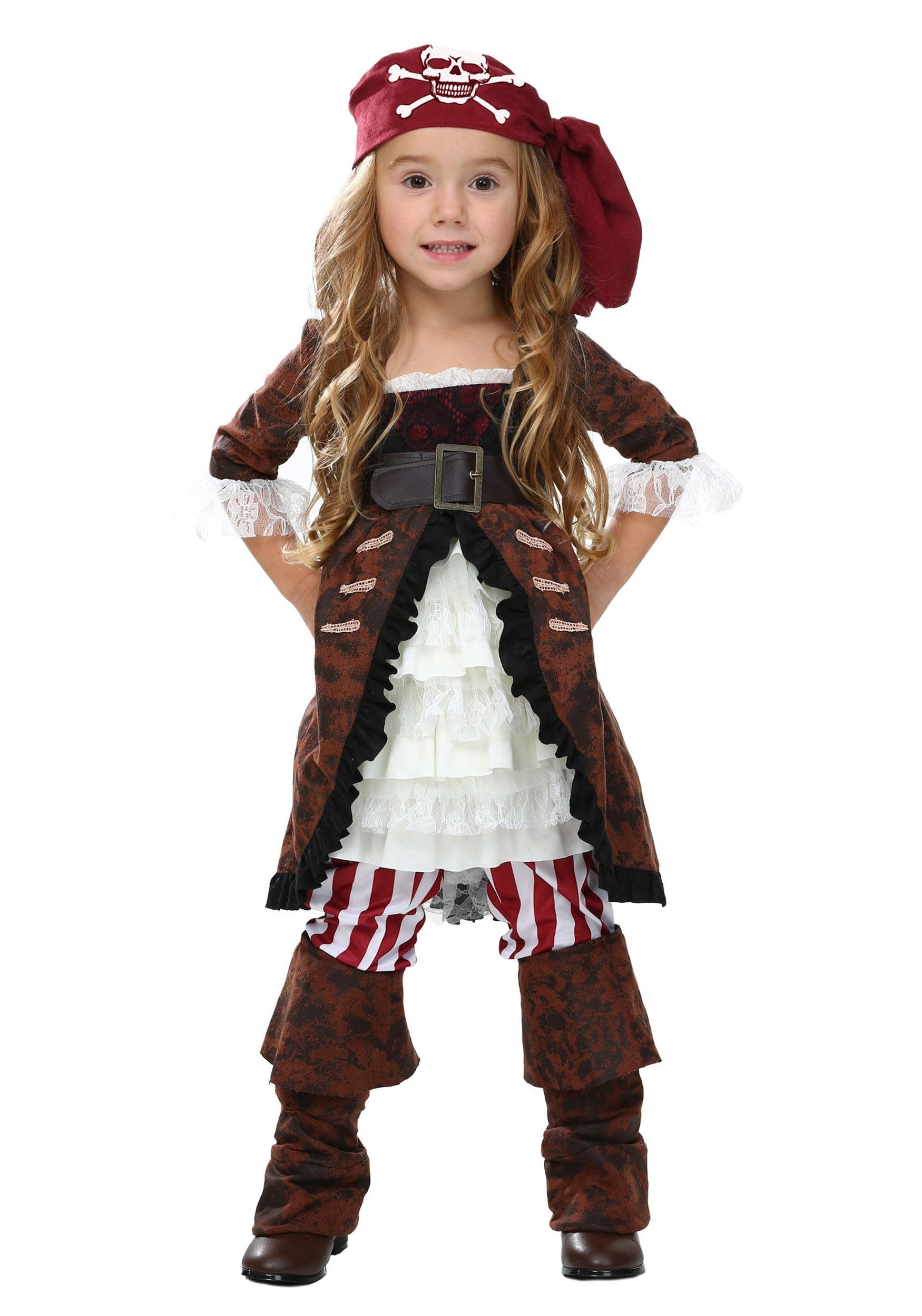 sc 1 st  Halloween Costumes UK & Toddler Brown Coat Pirate Costume