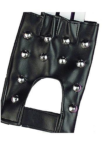 Studded Biker Gloves