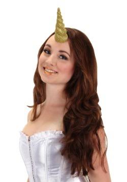 Gold Unicorn Horn