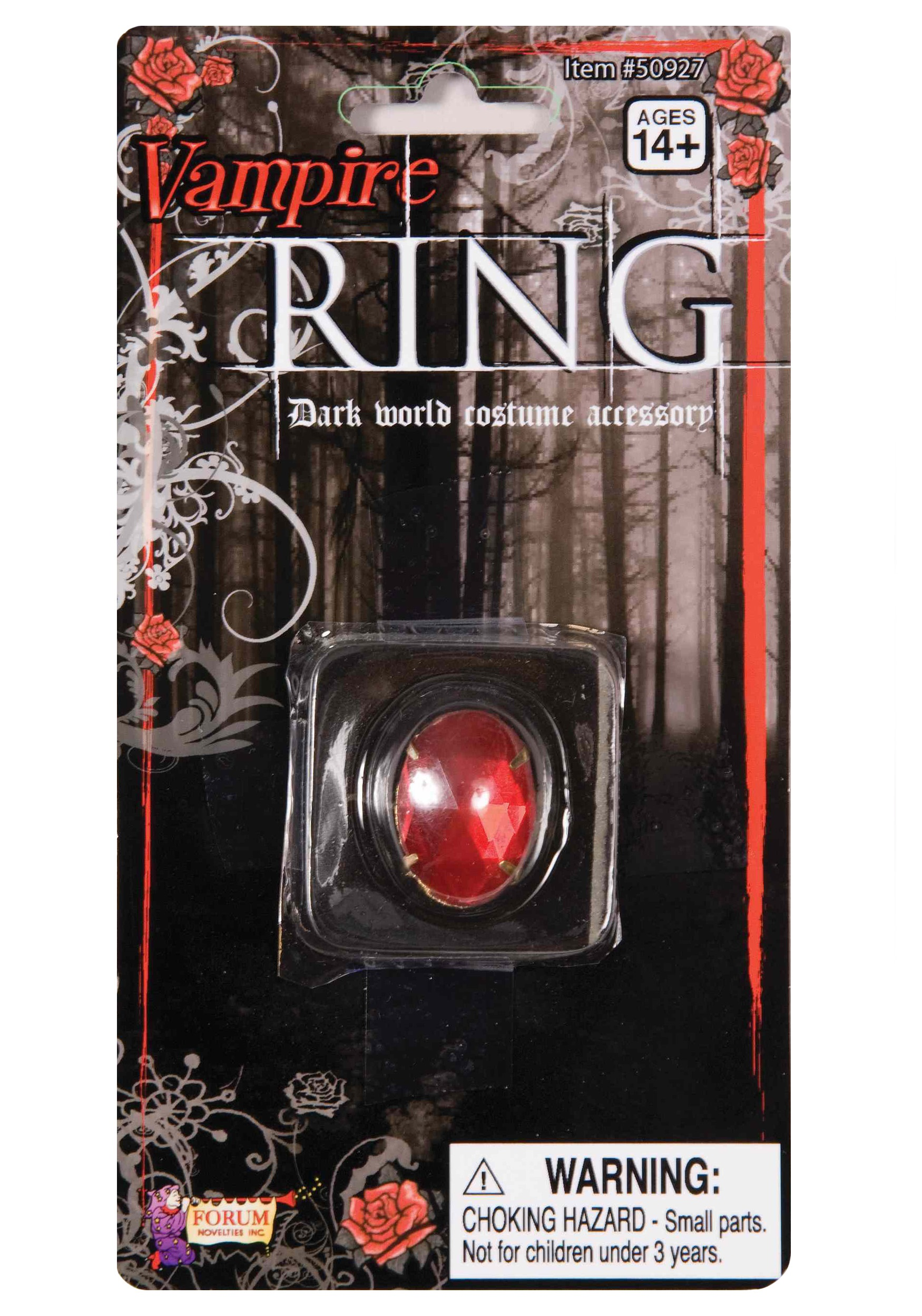 INOpets.com Anything for Pets Parents & Their Pets Vampire Ring