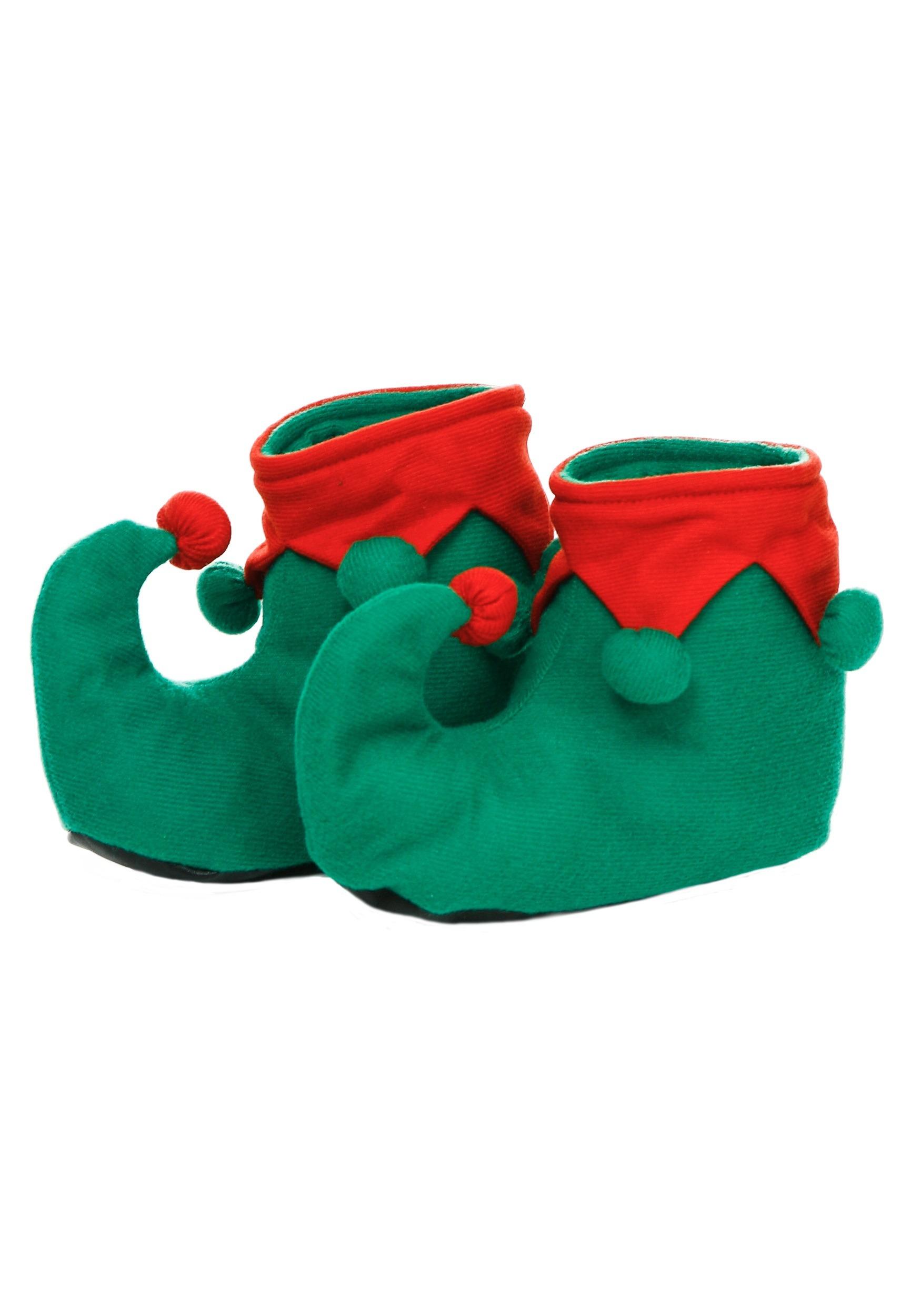 sc 1 st  Halloween Costumes UK & Child Christmas Elf Shoes