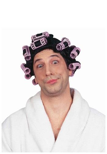 Hair in Curlers Wig