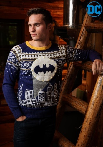 Bat Signal Batman Sweater