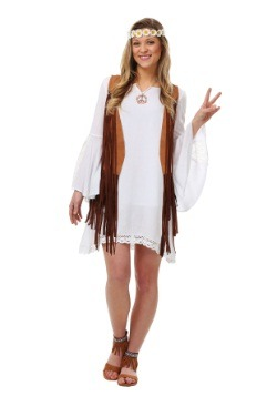 Plus Size Flower Child Costume