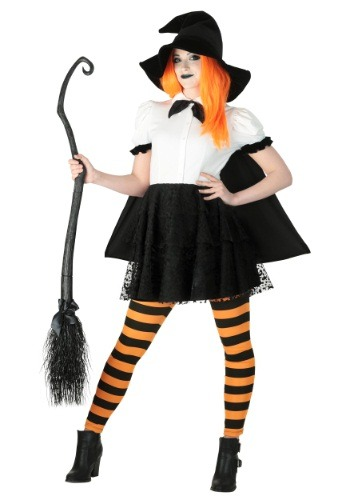 Women's Punky Witch Costume