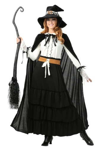 Women's Salem Witch Costume