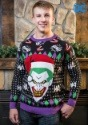 The Joker Santa Sweater