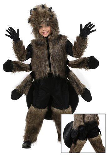 Toddler Furry Spider Costume