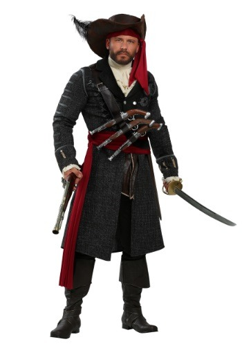 Blackbeard Plus Size Mens Costume