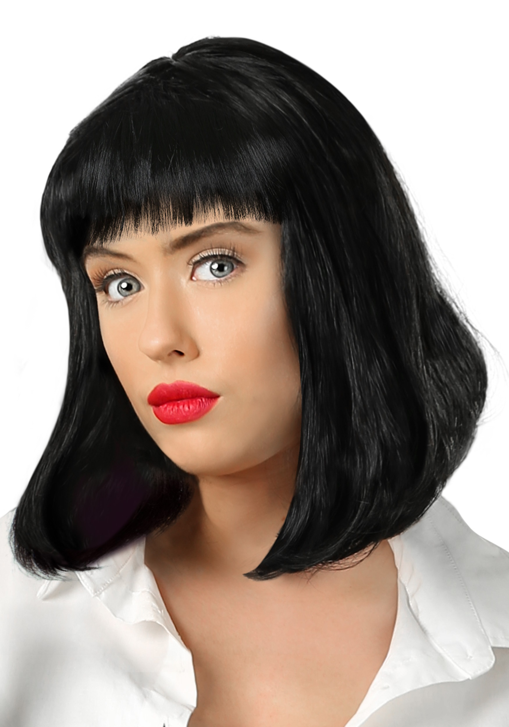 Pulp Fiction Mia Wallace Wig for Adults
