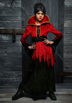 Girls Bloodthirsty Vampire Costume