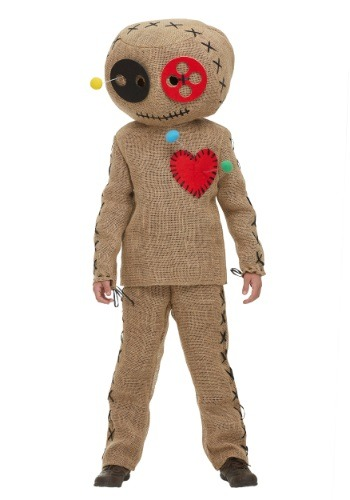 Child Burlap Voodoo Doll Costume