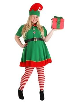 Womens Holiday Elf Plus Size Costume