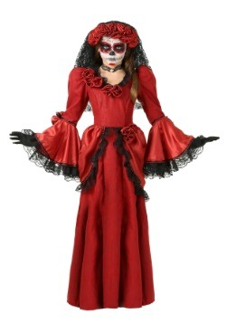 Girl's Day of the Dead Costume