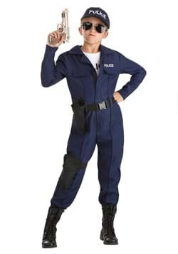 Girl's Tactical Cop Jumpsuit