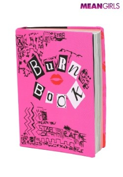 Mean Girls Burn Book Stretchy Book Cover