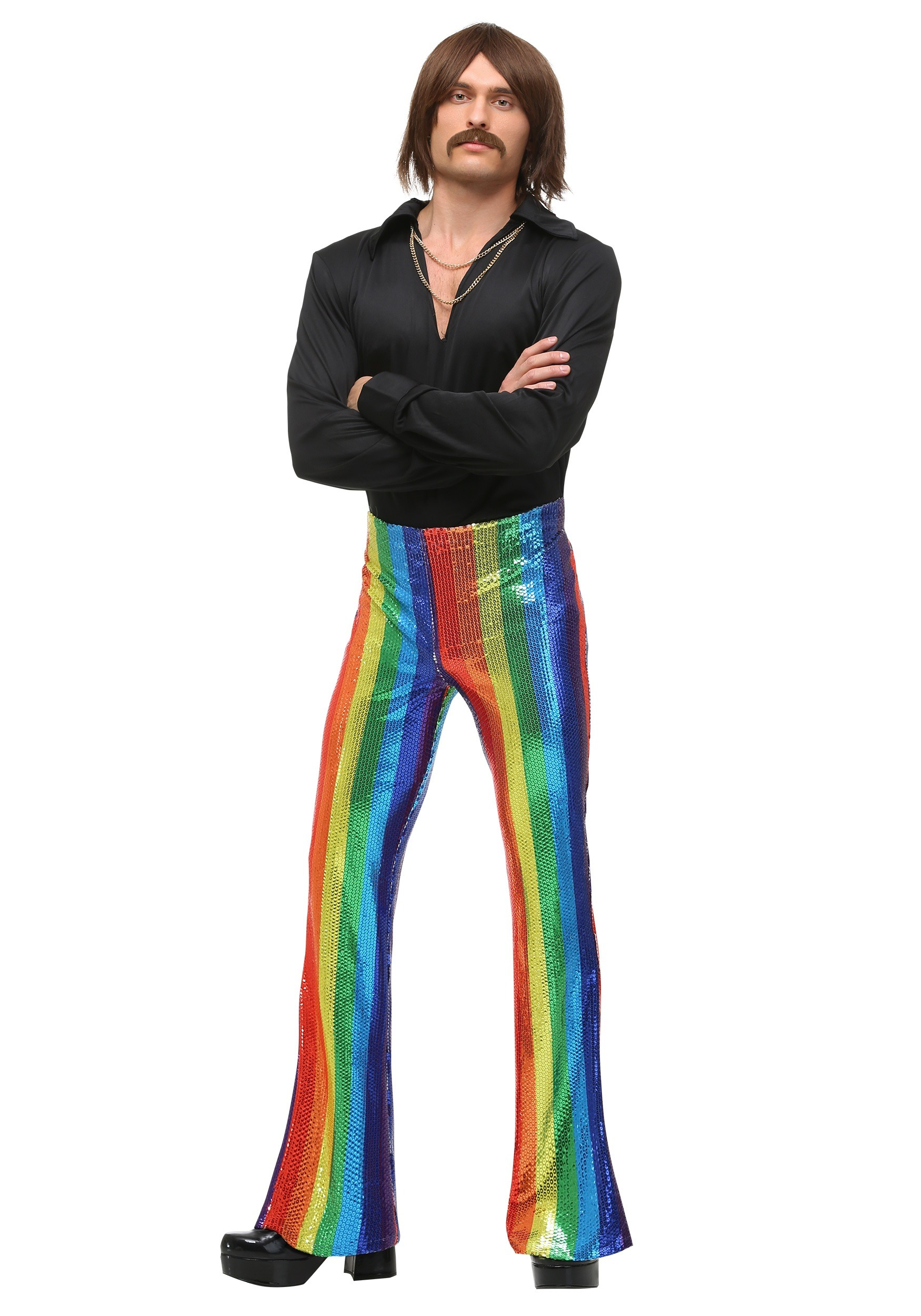Men Disco King Costume