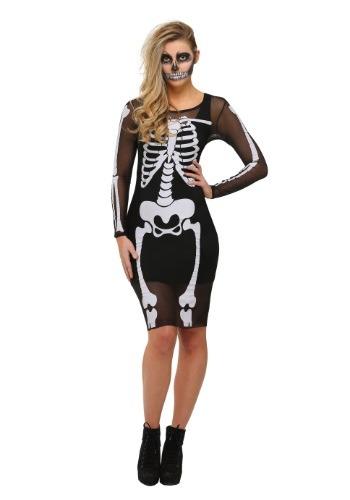 Mesh Skeleton Dress