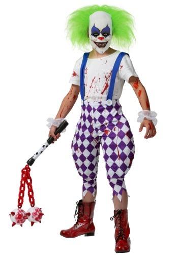 Kids Nightmare Clown Costume