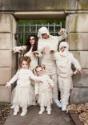 Women's Plus Size Full Length Mummy Costume