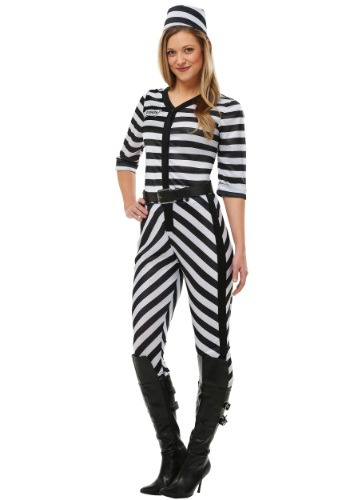 Women's Jailbird Beauty Plus Size Costume