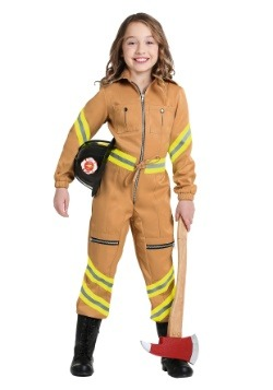 Tan Firefighter Jumpsuit