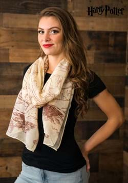 Marauders Map Scarf Harry Potter