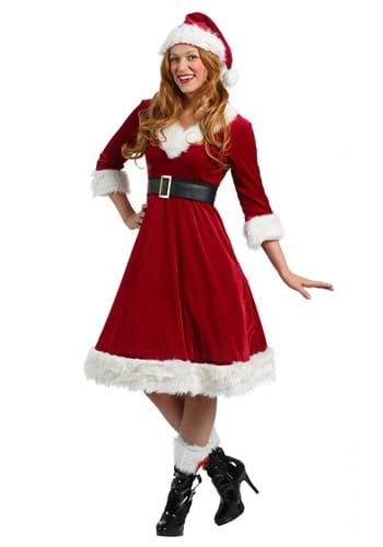 Womens Santa Claus Sweetie Costume
