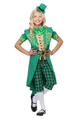 Girl's Charming Leprechaun Costume