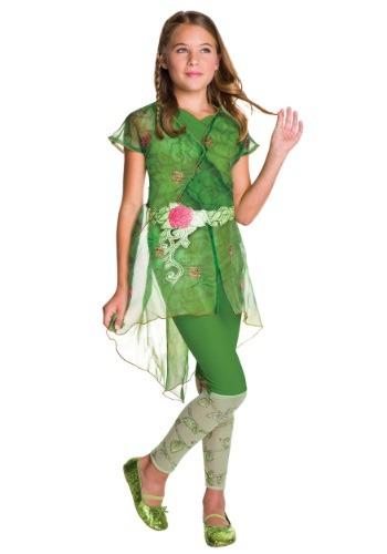 DC Superhero Girls Poison Ivy Deluxe Costume