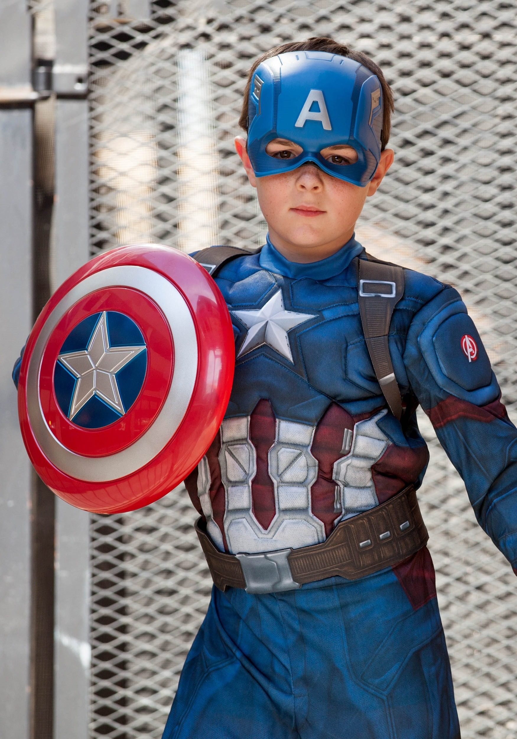 Captain America Cosplay costumes take on a black hue as the online stores get crammed with it. The Bucky Barnes costume involves a leather sleeveless jacket with laces up its front, to be worn over a tight fitting leather shirt which is also entirely black, save for one .