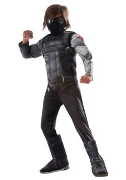 Boys Civil War Winter Soldier Deluxe Costume