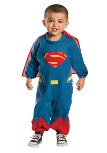 Toddler Superman Fleece Romper