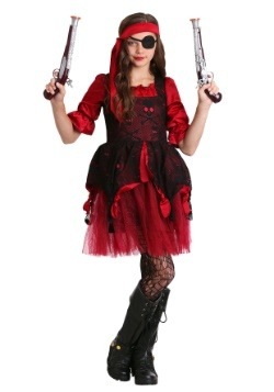 Girls Cutthroat Pirate Costume